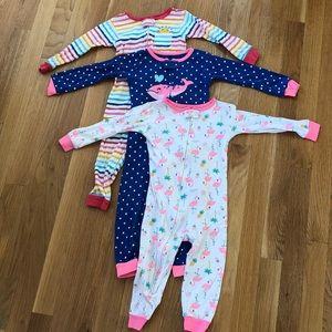 Bundle of 3 pair girls 2T pajamas